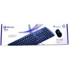 ZEE-COOL USB KEYBOARD + MOUSE COMBO KM2
