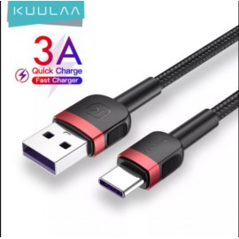 KUULAA USB Type C Cable 3A 5A Quick Charge Cable