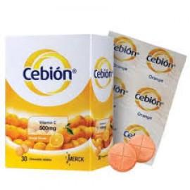 CEBION CHEWABLE VITAMIN C 500MG 30'sx3