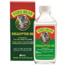 EUKY BEAR EUCALYPTUS OIL 60ML