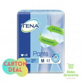 Tena Pants Plus M9  - 1 Carton = 6 Bags