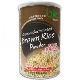 BNC ORGANIC GERMINATED RICE BRAN 有機能量發芽玄米粉 200G/CAN
