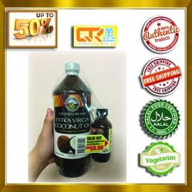 [TWIN PACKS] COUNTRY FARM Organic Extra Virgin Coconut Oil 1L + 100ML