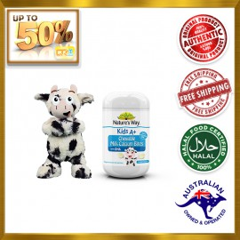 NATURE'S WAY Kids A+ Chewable Milk Calcium Bites With DHA 60s