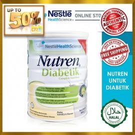 NESTLE Nutren Untuk Diabetik® Complete Nutrition 800g