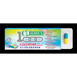 Hurix's 1000 Cold Fever Capsule 6's x 1